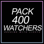||| PACK 4OO WATCHERS |||