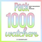 | PACK 1000 WATCHERS |