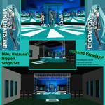MMD Miku Hatsune Nippon Stage Set