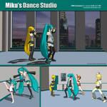 MMD Miku's Production Dance Studio