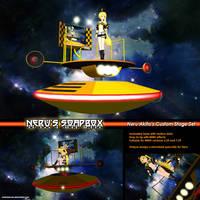 MMD Akita Neru's Soapbox (Stage Set) by Trackdancer