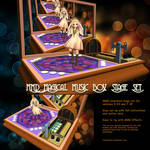 MMD Magical Music Box Stage Set