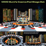 MMD Gumi's Cosmo-Pod Stage Set