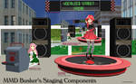 MMD Busker's Stage Components Set