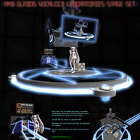 MMD GLaDOS' Vocaloid Lab Stage Set by Trackdancer