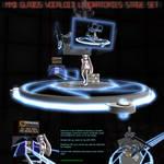 MMD GLaDOS' Vocaloid Lab Stage Set
