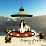 MMD Oriental Dream Stage Set