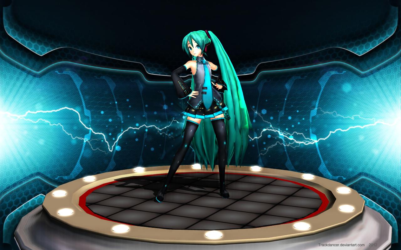 MMD Hatsune-San's Pedestal