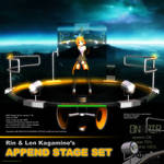 MMD Rin Chan's Append Stage Set