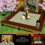 Meiko's House of the Geisha Stage Set