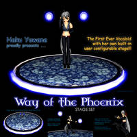 MMD Haku's Way Of The Phoenix Stage by Trackdancer