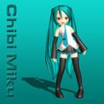 MMD Chibi Miku (ver 1.0)