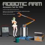 MMD Accessory Robotic Arm