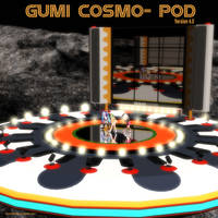 MMD Gumi's Cosmo-Pod Stage (Version 4.0) by Trackdancer