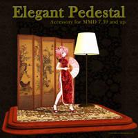 MMD Elegant Pedestal by Trackdancer