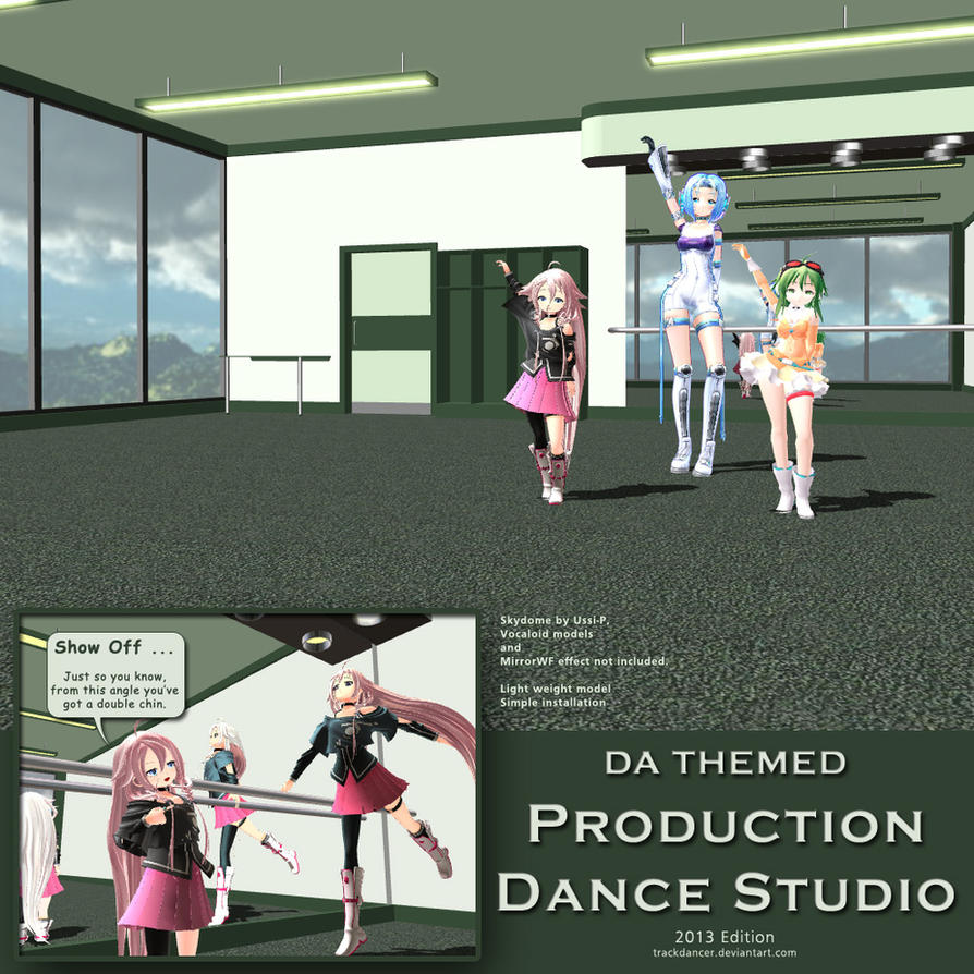 Mmd production dance studio 2013 edition by trackdancer on for Porte arts and dance studio