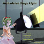 MMD Articulated Stage Light Accessory