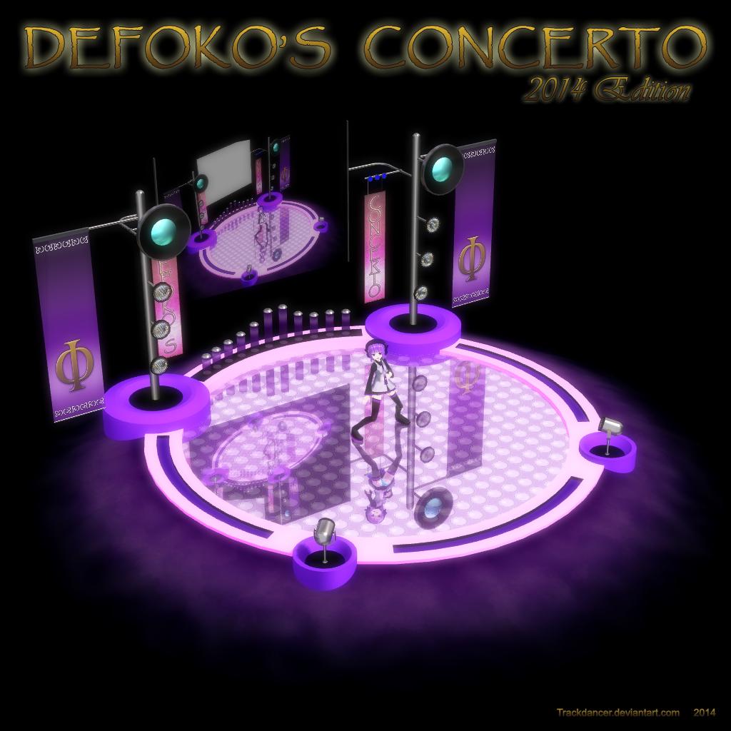 MMD Defoko's Concerto - 2014 Edition by Trackdancer