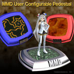 MMD User Configurable Figure Stand