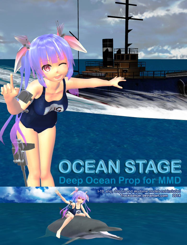Mmd Ocean Stage By Trackdancer On Deviantart