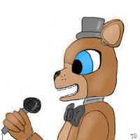 Freddy Fazbear by jahaira263