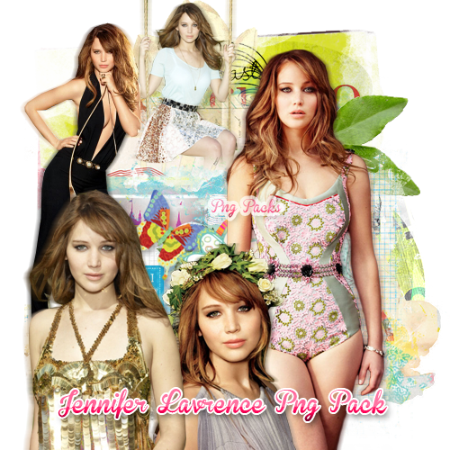 PNG Pack(49)  Jennifer Lawrence by BeautyForeverr