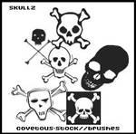 brushes +  skullz