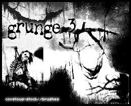 brushes + grunge 3 by covetous-stock