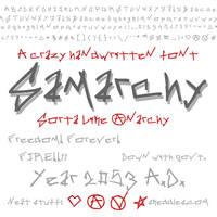 Font - Samarchy by skeddles