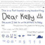 Font - Dear Kelly