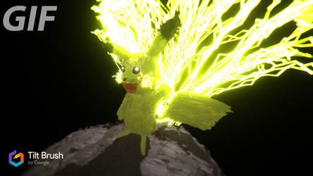 Pikachu (Tilt Brush Test) by bey108