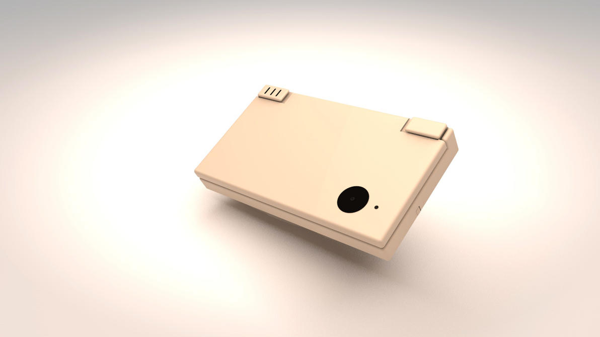 Nintendo DSI Model_C4D by Amaju