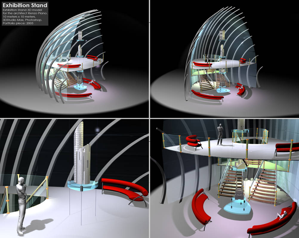 Exhibition Stand 3d Model : Exhibition stand 3d animation by prevmia on deviantart