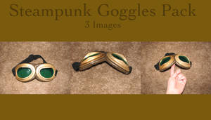 Steampunk Goggle Pack