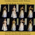 Golden Queen with Tribute