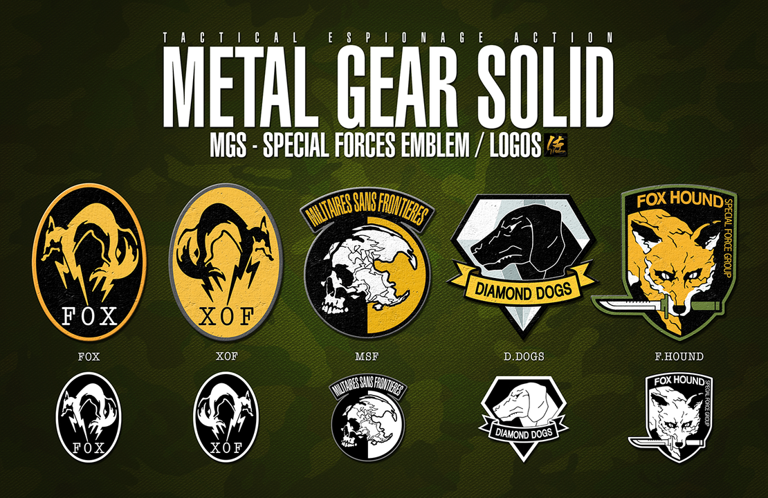 MGS - SPECIAL FORCES EMBLEM / LOGOS by ELITE4foxes on DeviantArt