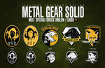 MGS - SPECIAL FORCES EMBLEM / LOGOS