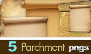 Parchment pngs by SzisszDL