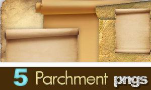Parchment pngs
