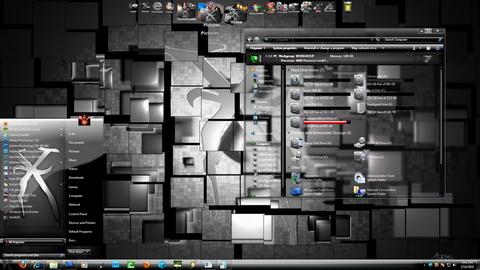 Shatter-red 7 v2 theme for Windows 7