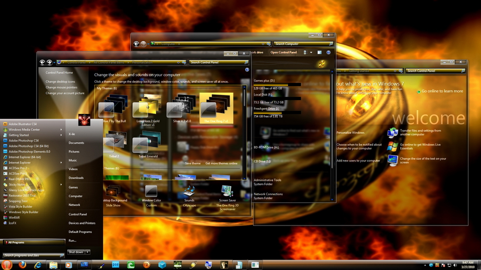 best desktop themes for windows 7 free download