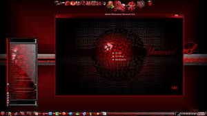 Shatter-red 7 v2 theme by X-ile2010