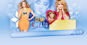 Demi Lovato psd header