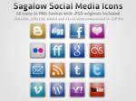 Sagalow Social Media Icon Pack