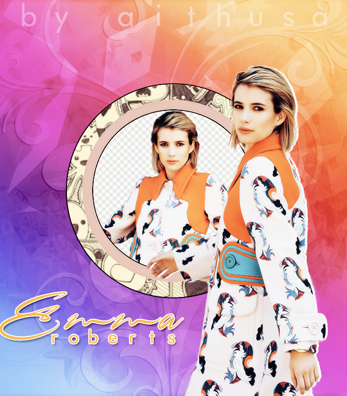 Emma Roberts PNG PACK by Fuckthesch00l