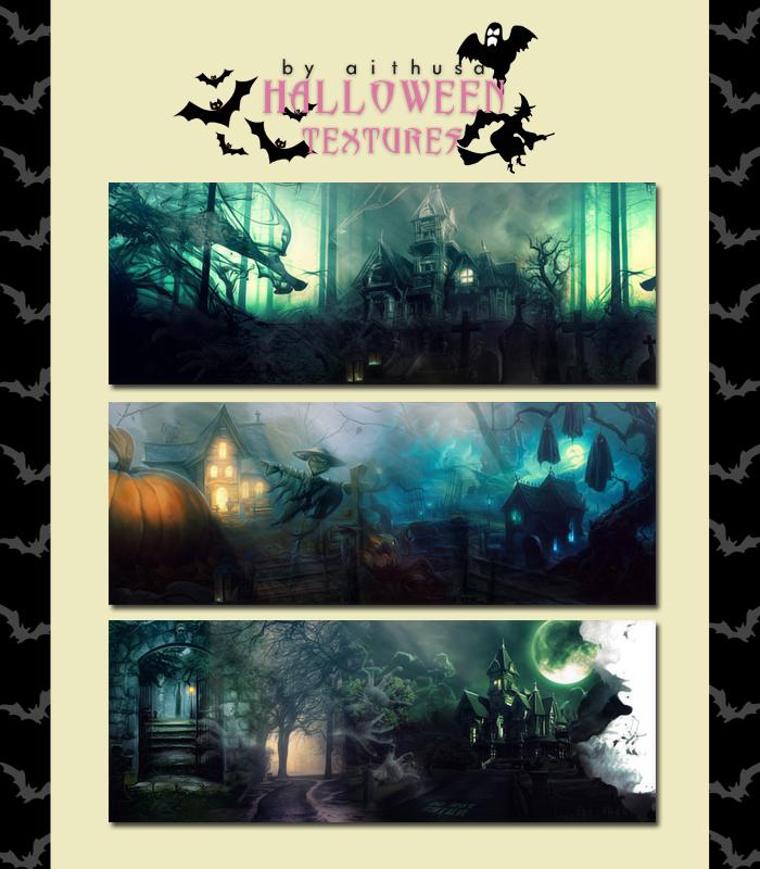 Halloween Textures by Fuckthesch00l