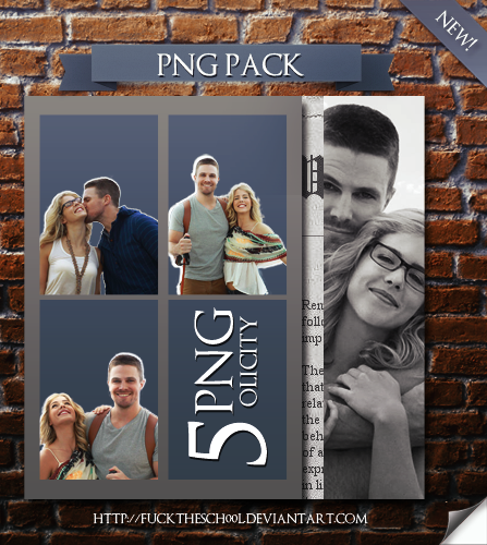 Olicity png pack by Fuckthesch00l