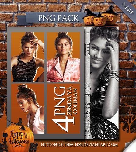 Zendaya Coleman Png Pack by Fuckthesch00l