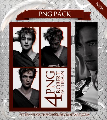 Robert Pattinson Png Pack by Fuckthesch00l