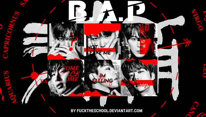 B.A.P 'WHO ARE YOU?' ICON PACK by Fuckthesch00l